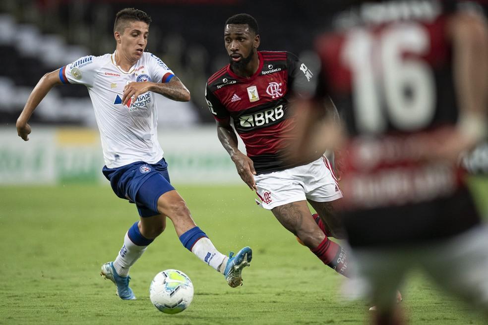 Gerson acusa Ramírez de racismo em duelo entre Flamengo e Bahia no Maracanã