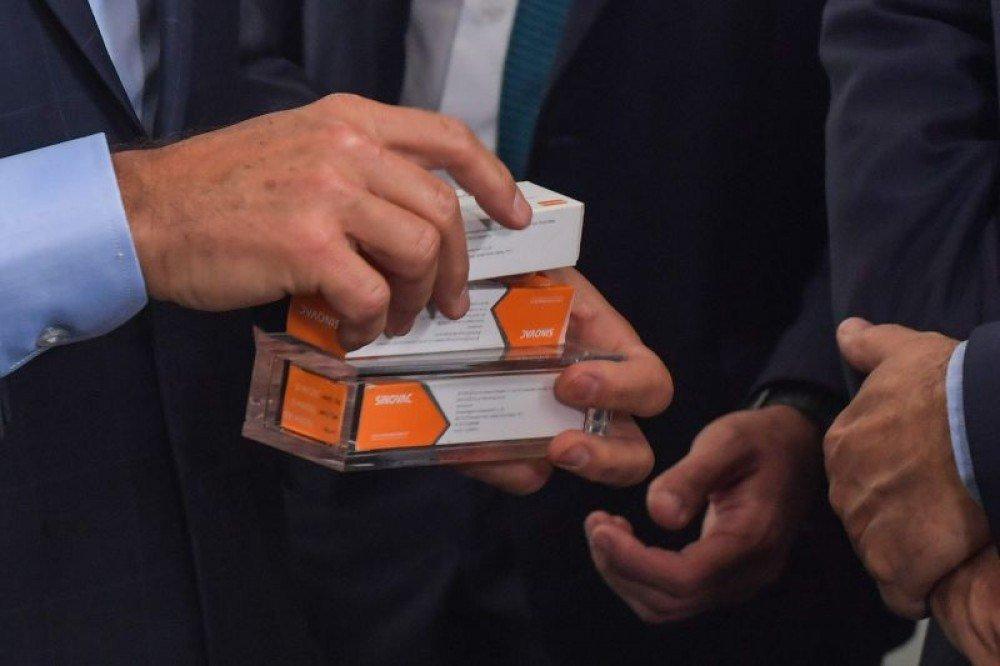 Trata-se do maior lote recebido até o momento pelo governo paulista