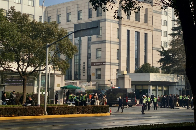 Zhang Zhan foi condenada após uma rápida audiência em um tribunal de Xangai