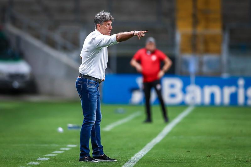 Renato Gaúcho projeta duelo equilibrado diante do tricolor paulista