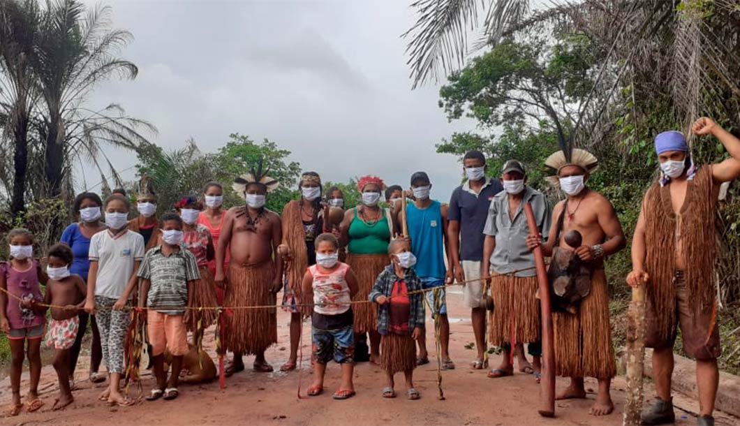 Barreira sanitária na Terra Indígena Comexatibá/BA: servidores tentaram 'usurpar' trabalho feito pelos indígenas