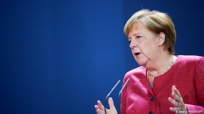 A chanceler Angela Merkel se despede do governo