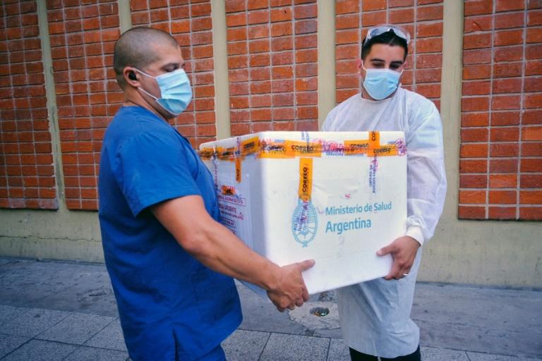 A Argentina começou na semana passada sua campanha de vacinação contra a Covid-19 com a aplicação da vacina Sputnik V