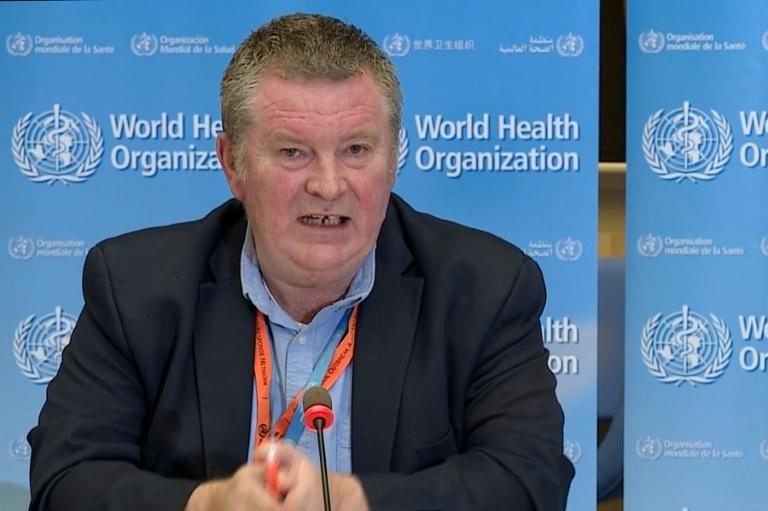 O diretor de emergências da OMS, Michael Ryan, participa de coletiva de imprensa sobre o novo coronavírus