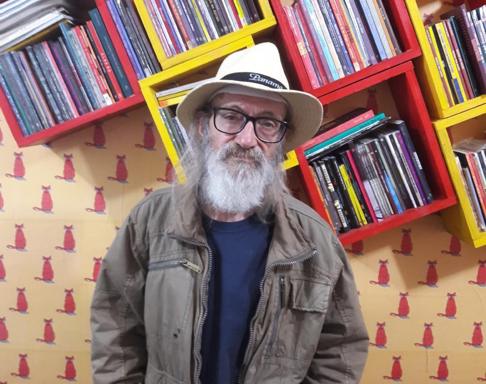 O escritor Eugênio Ramos Gianetti