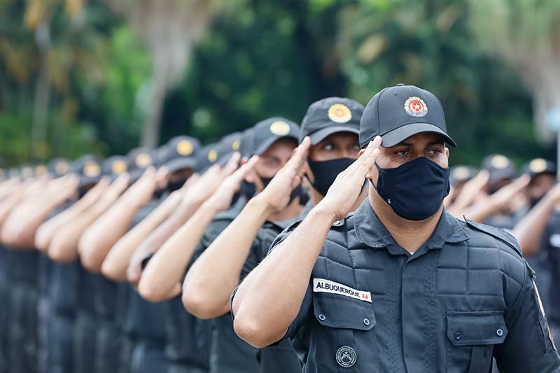 Solenidade de Conclusão do Curso de Formação de Soldados da Polícia Militar do Rio de Janeiro