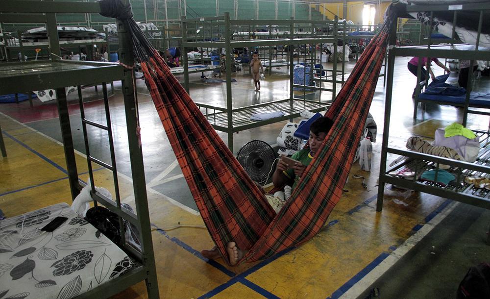 Segundo a Procuradoria e a Defensoria, os migrantes chegaram a Pacaraima em péssimas condições de higiene