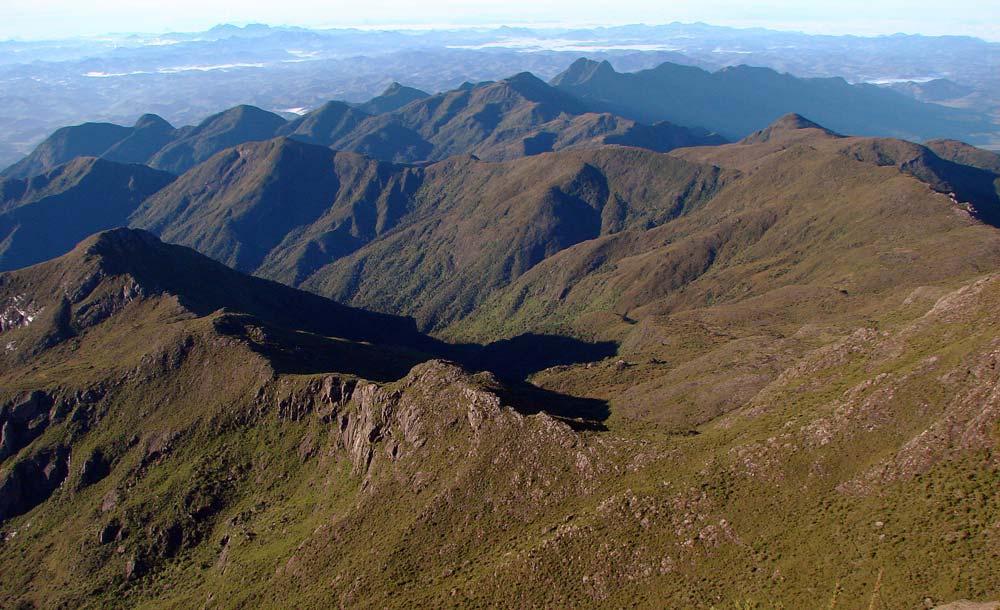 Parque Nacional da Serra do Caparaó, onde está situado o Pico da Bandeira