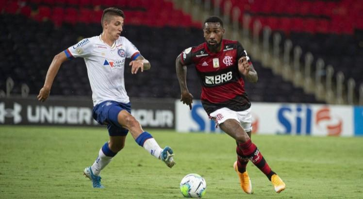 Episódio aconteceu no jogo entre Flamengo e Bahia no dia 20 de dezembro