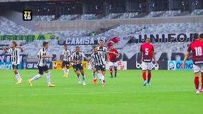 Hyoran foi quem abriu o placar para a equipe alvinegra aos 13 minutos (Divulgação/ Atlético)