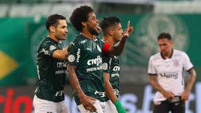 Os gols foram de Raphael Veiga e Luiz Adriano no Allianz Parque (Divulgação/Palmeiras)