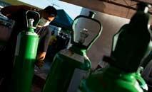 Prefeitura de Faro comunicou a morte de seis pessoas por falta de oxigênio na cidade (Hugo Barreto/Prefeitura de Faro)