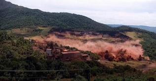 O rompimento da Barragem I da Mina Córrego do Feijão deixou 270 mortos e 11 desaparecidos (Reprodução)