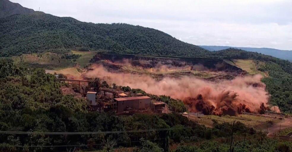 O rompimento da Barragem I da Mina Córrego do Feijão deixou 270 mortos e 11 desaparecidos