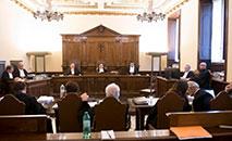 Sala do Tribunal Vaticano (Vatican Media)