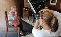 Todos adoram ser fotografados, pois se sentem bonitos e valorizados, diz a fotógrafa (Divulgação)