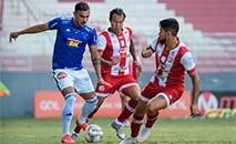 Empate deixou o Cruzeiro na 12.ª colocação com 48 pontos (Gustavo Aleixo/Cruzeiro)