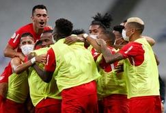 Helinho e Claudinho marcaram os gols da partida (RB Bragantino/Divulgação)