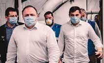 Pazuello reinaugurou ala de hospital em Manaus nesta terça-feira (Ministério da Saúde/Divulgação)