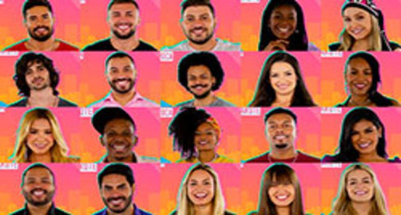Participantes do BBB21 (Divulgação/Globo)