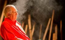 O veterano Luiz Carlos Barreto, aos 92 anos, segue com novos projetos (Ana Paula Amorim/Divulgação)