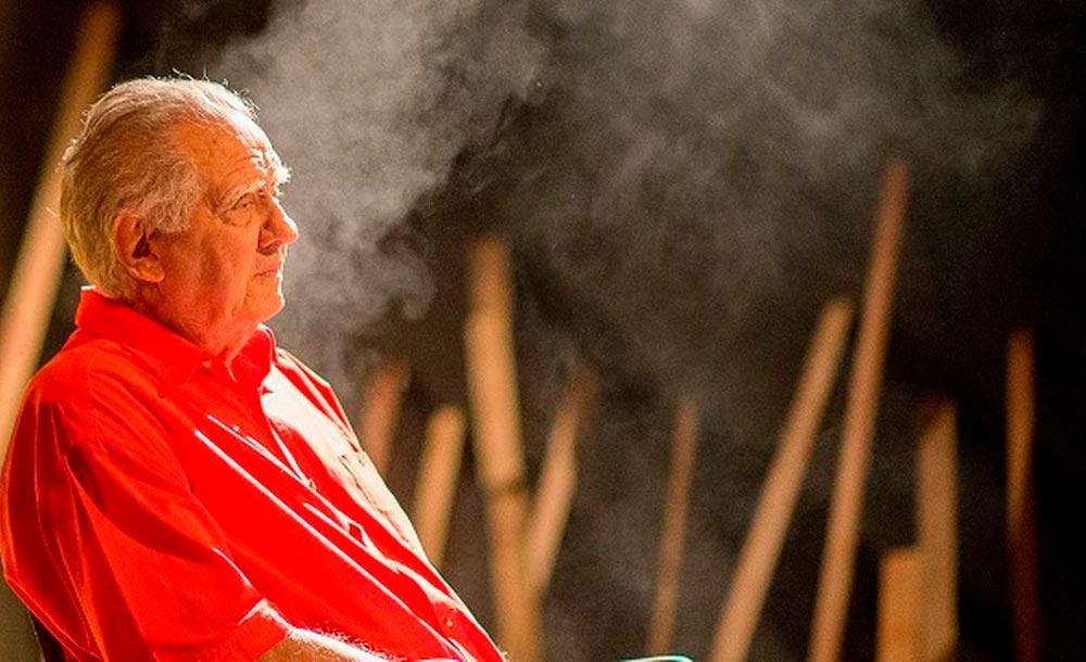 O veterano Luiz Carlos Barreto, aos 92 anos, segue com novos projetos