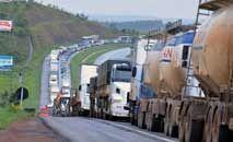 Possibilidade de paralização do transporte rodoviário deixa Planalto em alerta (Valter Campanato/Abr)