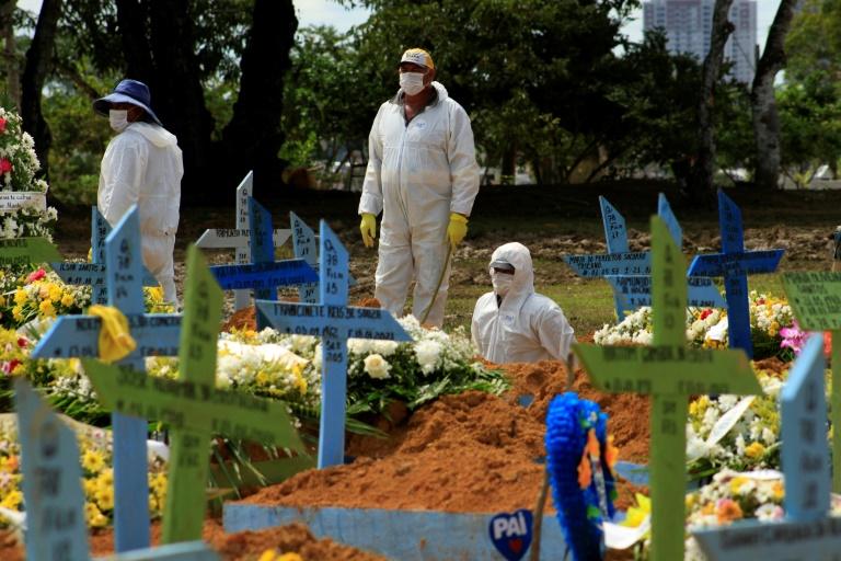 O Brasil tem mais de 220 mil mortes por Covid-19