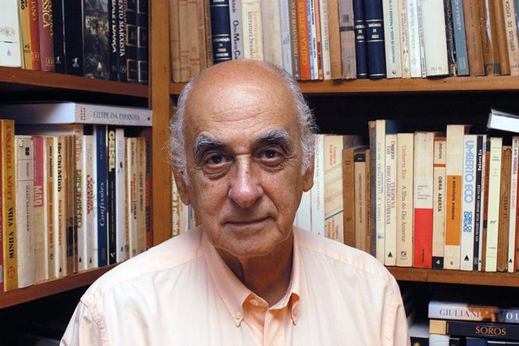 O escritor e jornalista Zuenir Ventura
