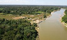 Projeto quer construir uma estrada que corta parte preservada da floresta amazônica no Acre (Secretaria de Comunicação/Governo do Acre)