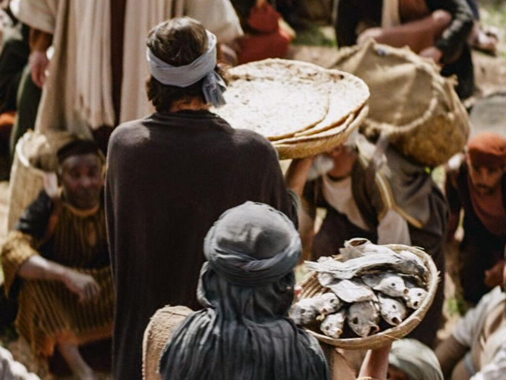 A abundância de alimento é graça de Deus, mas é igualmente empenho de cada pessoa e de todas juntas