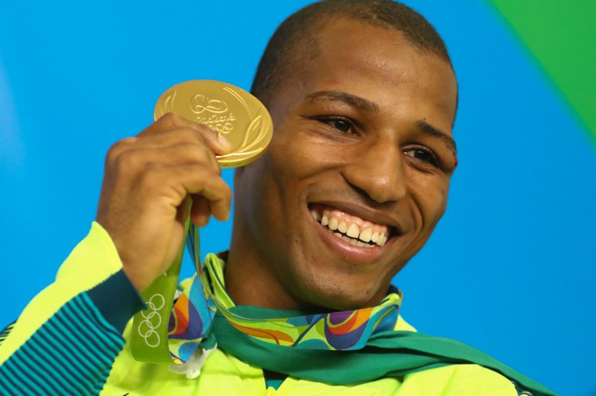 Robson Conceição foi medalhista olímpico em 2016