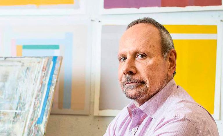 O artista Paulo Pasta explora as cores para proporcionar estados de contemplação quase mística