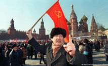 A Lituânia foi a primeira a se tornar independente, e o último foi o Cazaquistão. Exposição em Berlim conta a história do colapso do império soviético (DW)