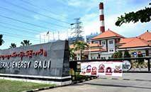 (Arquivo) Central de energia Celukan Bawang 2, financiada pela China, em Singaraja, na ilha turística de Bali, na Indonesia, em 29 out. 2020 (Sonny Tumbelaka/AFP)