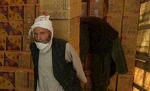 Atividade no centro aduaneiro de Herat, no Afeganistão, em setembro de 2021 (Hoshang Hashimi/AFP)