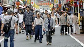 Atualmente, um em cada quatro japoneses tem mais de 65 anos (DW)