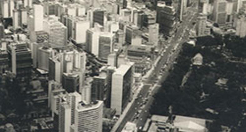 Belo Horizonte na década de 1970 (Arquivo Nacional)