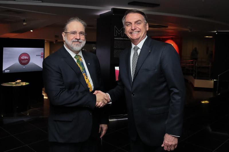 Augusto Aras é considerado aliado de primeira linha de Bolsonaro