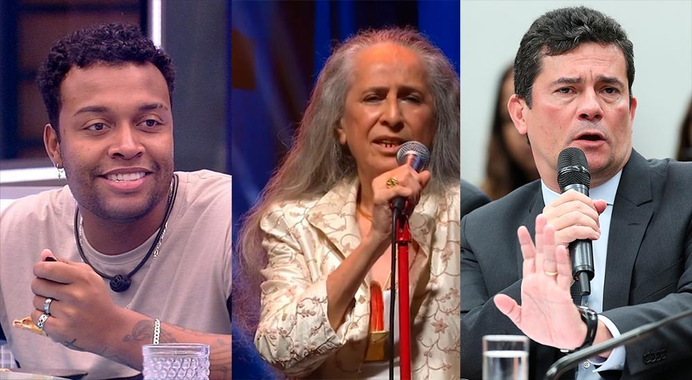 Nego Di e Sérgio Moro serão eliminados, enquanto Bethânia fica mais forte