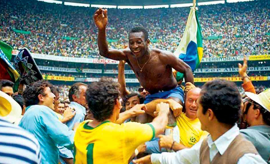 Pelé se consagra com a conquista do tri, no México, em 1970: Pra frente, Brasil