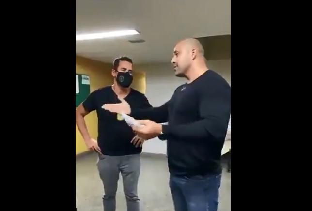 Daniel Silveira desacatou policial civil no Rio de Janeiro
