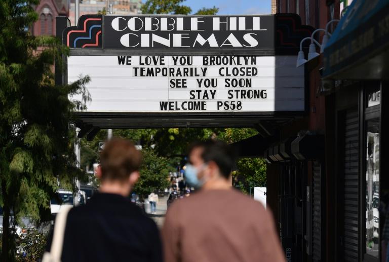 Cinemas Cobble Hill no Brooklyn, Nova York em 8 de outubro de 2020