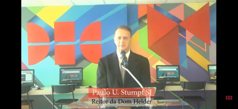 Reitor Paulo Umberto Stumpf SJ, da Dom Helder Escola de Direito