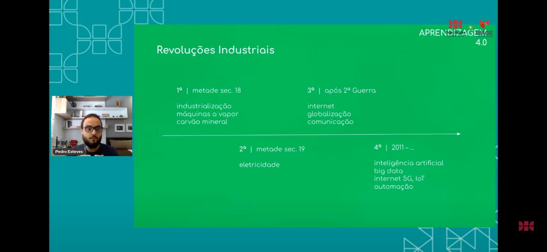 Professor Pedro Esteves fala sobre aprendizagem 4.0