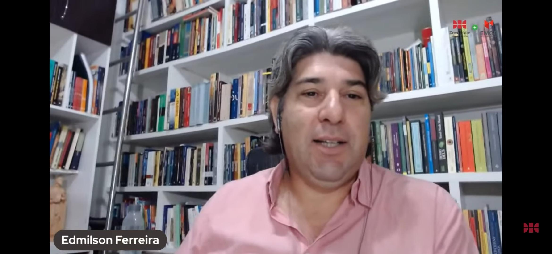Edmilson Ferreira, coordenador do Ensino a Distância