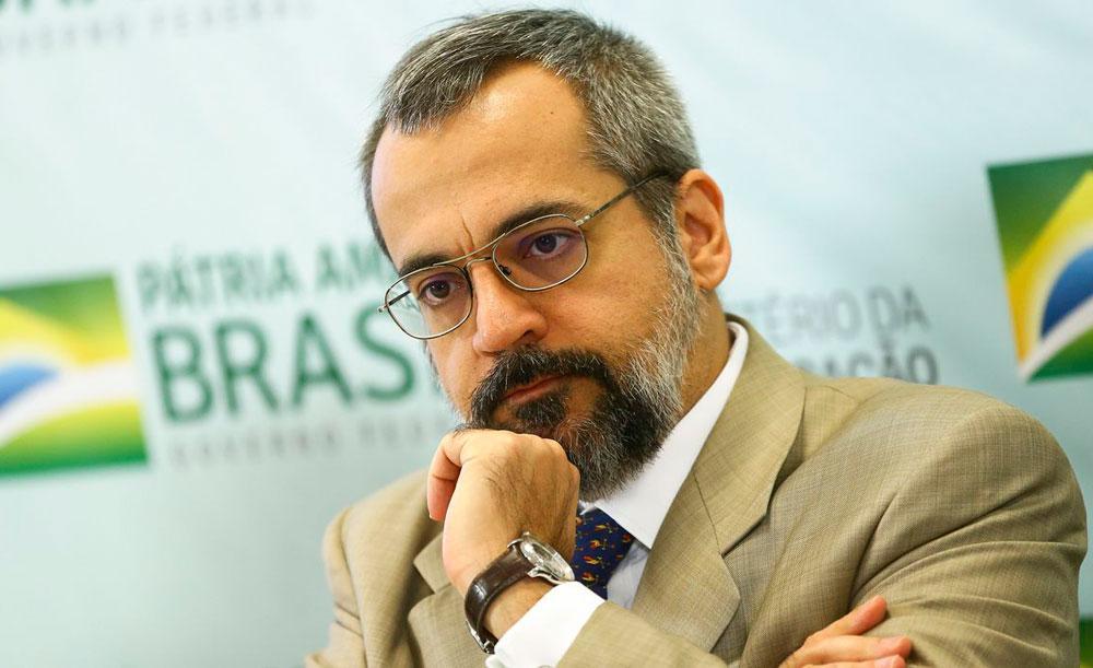 O ex-ministro da Educação integrava a chamada ala ideológica do governo Bolsonaro