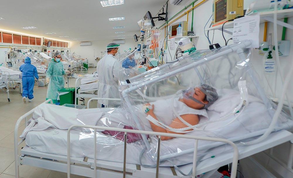Capitais sofrem também com pressão por transferência de pacientes graves de cidades do interior