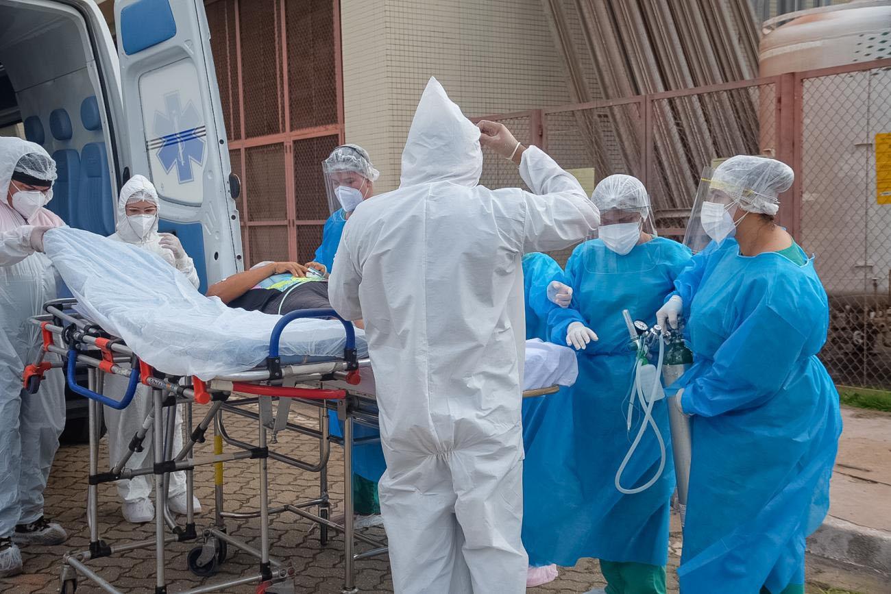 Em caos, pará já transferiu 236 pacientes com Covid-19 na região Oeste do Brasil
