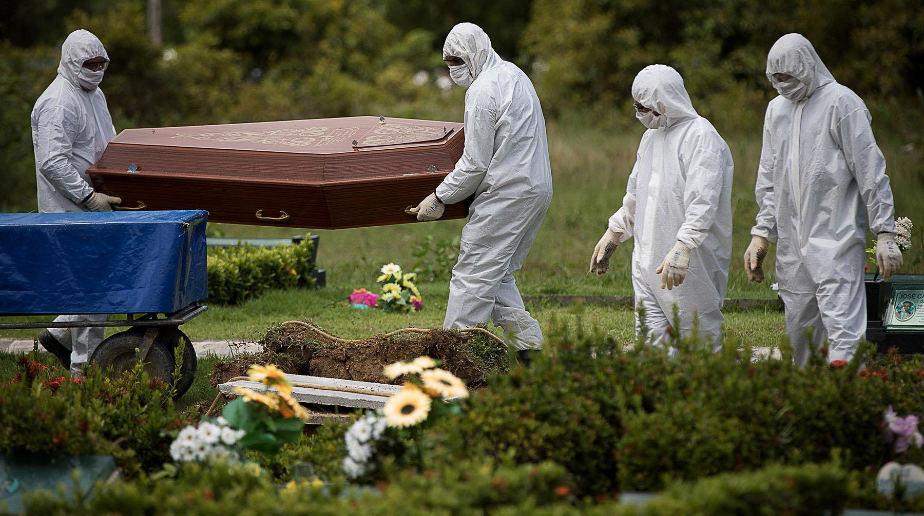 Pandemia está fora de controle no Brasil